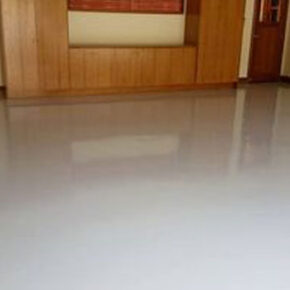 concrete resurfacing living room